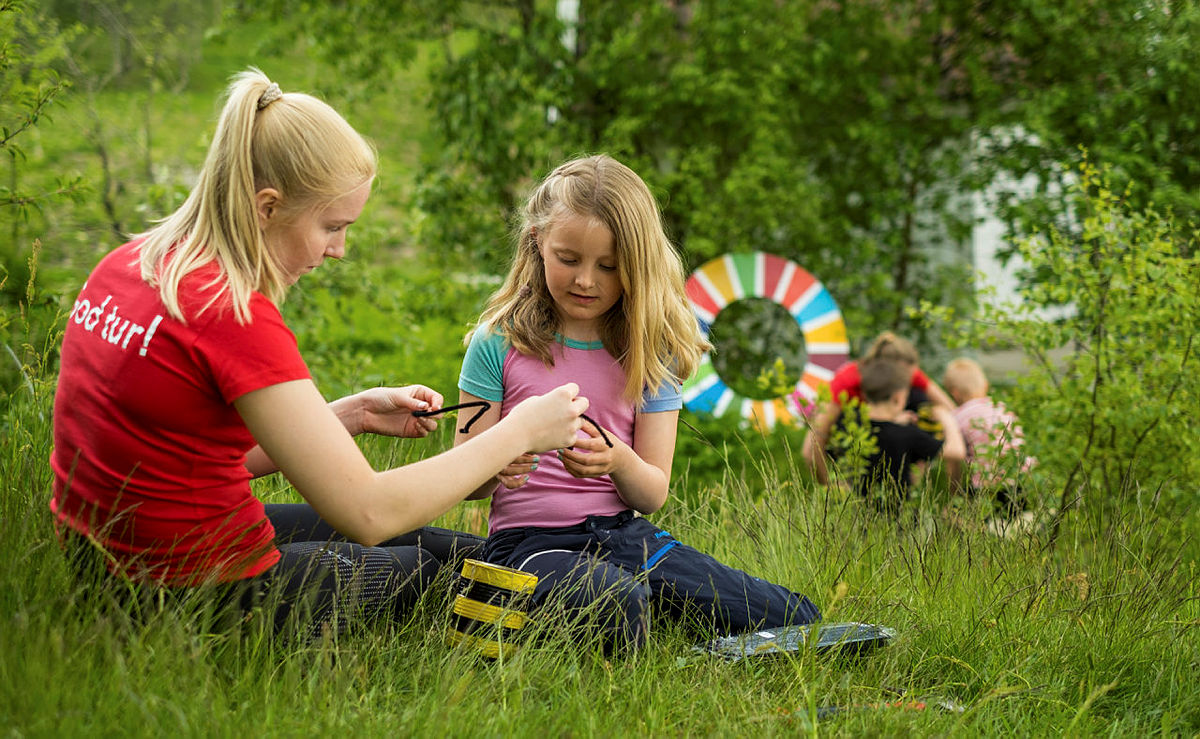 I sommer arrangeres Bærekraftslekene på Gramstad i Sandnes.