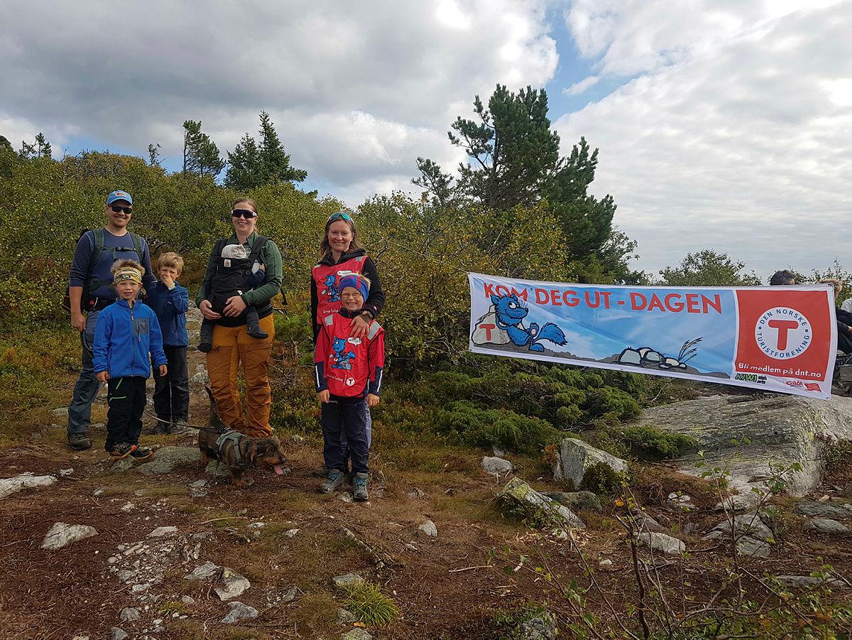 Barnas Turlags tur til Lifjell i Telemark.