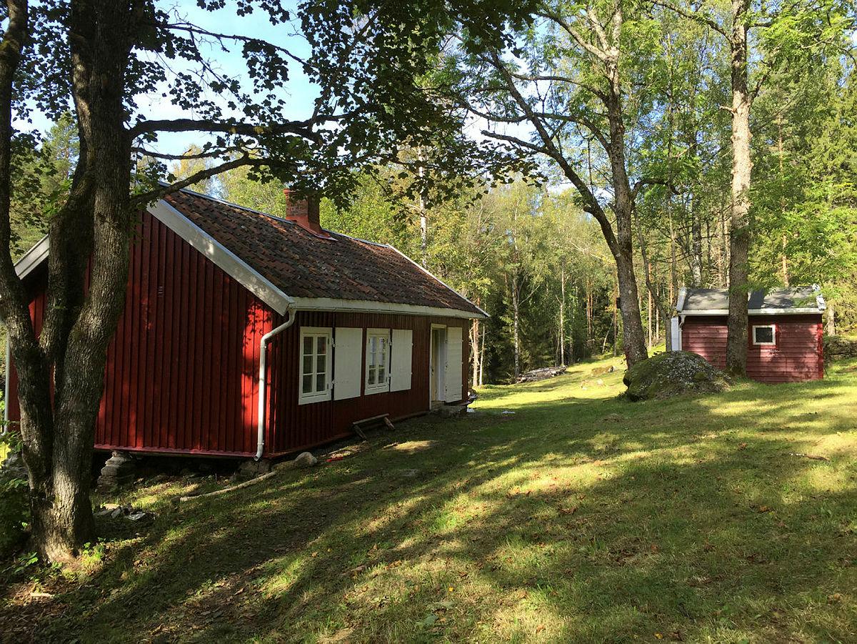 Dølerud i Østmarka. De ubetjente hyttene i Marka kan bookes fra 15. mai.