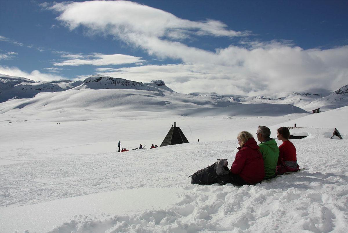 Rekordpåske på Haukeliseter fjellstue