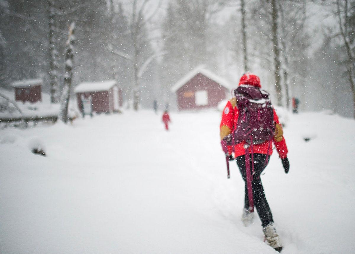 Tur til Dølerud i januar 2016.