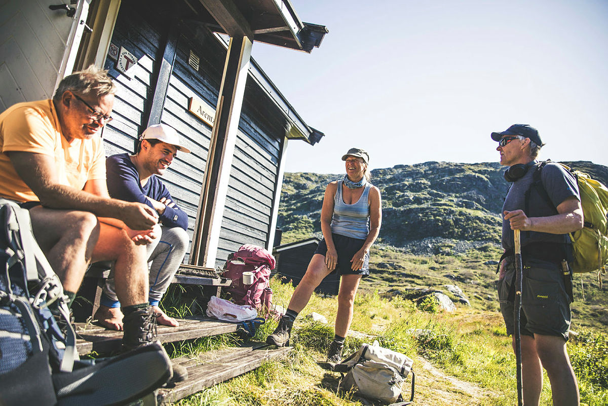 Middalsbu, Hardangervidda vest