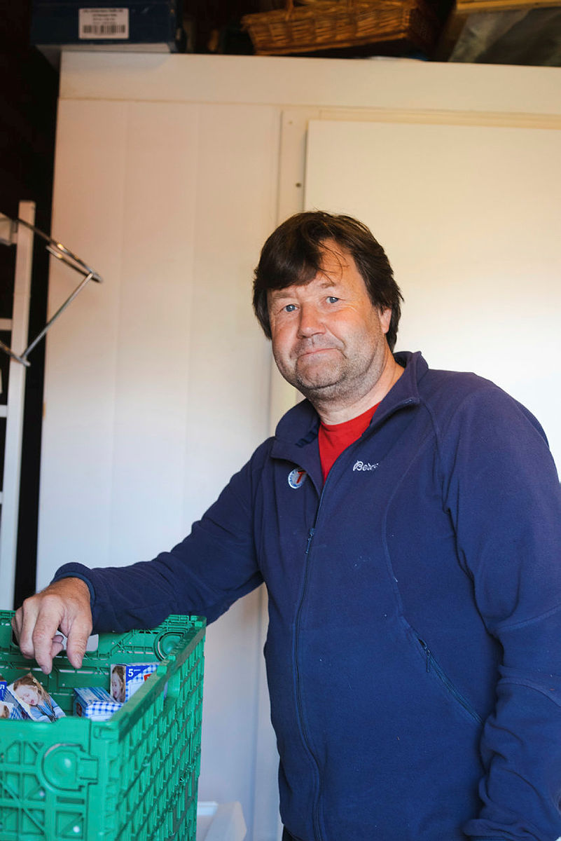SJEF PÅ KJØKKENET: Arnt Håkon Brox er én av kokkene du finner bak grytene i år.