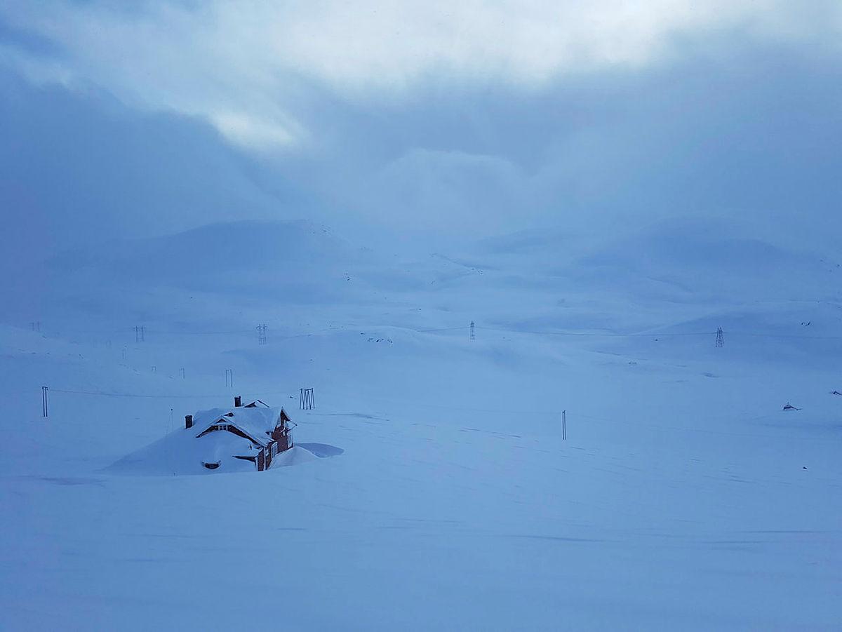 Vinterstemning på Mjølfjell
