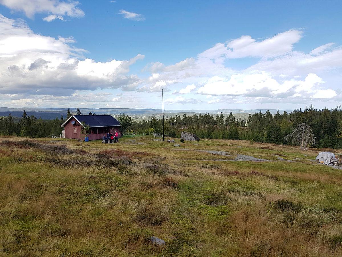 Rundtur fra Fjellskard i Sande