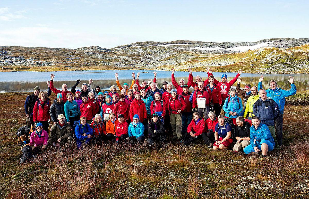 Turledersamling på Krækkja, Hardangervidda september 2017
