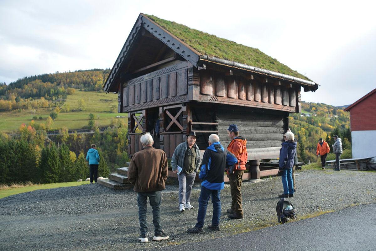 Lågterskeltur til Hjelleloftet med Voss Sogelag, 10. oktober.