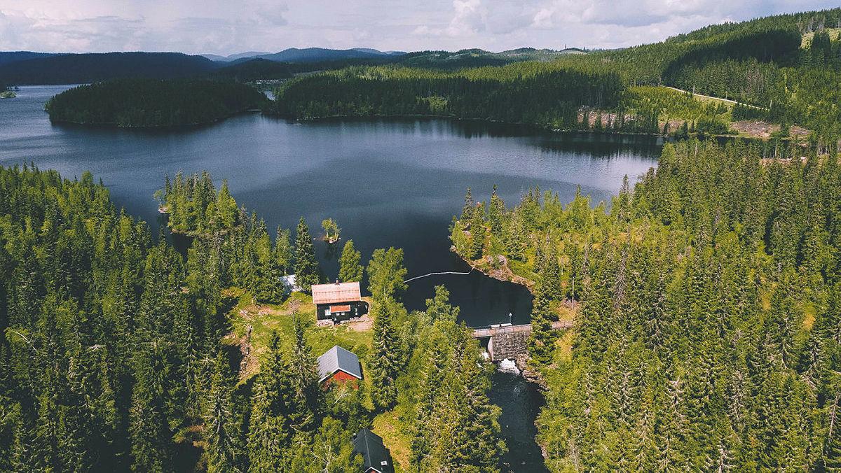 Katnosdammen og Katnosa er en skikkelig perle midt i Nordmarka