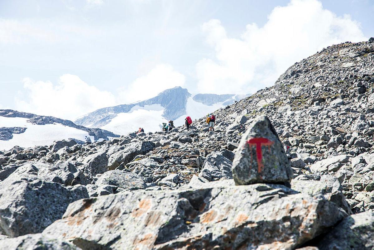Bilder fra Monsen: minutt for minutt i Jotunheimen
