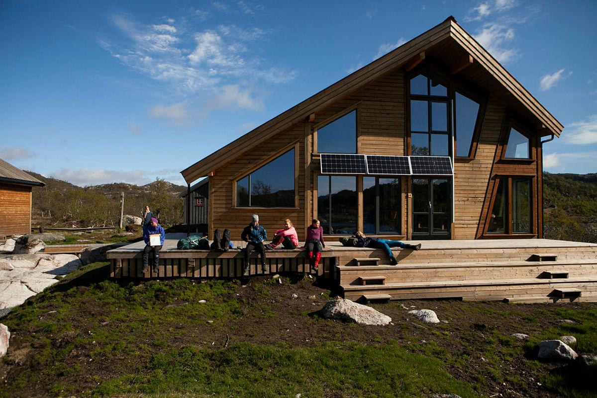 Kvinen i Sirdal åpnet i 2019, og er populær blant barnefamilier.