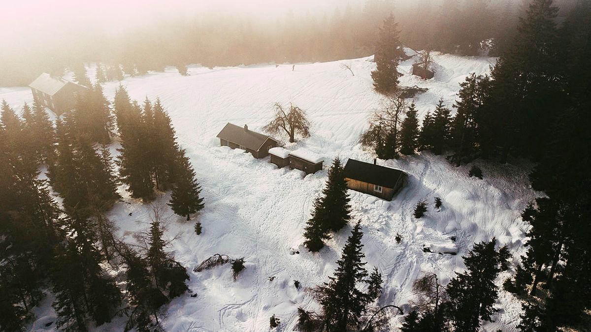 I Romeriksåsene er det fortsatt godt med snø