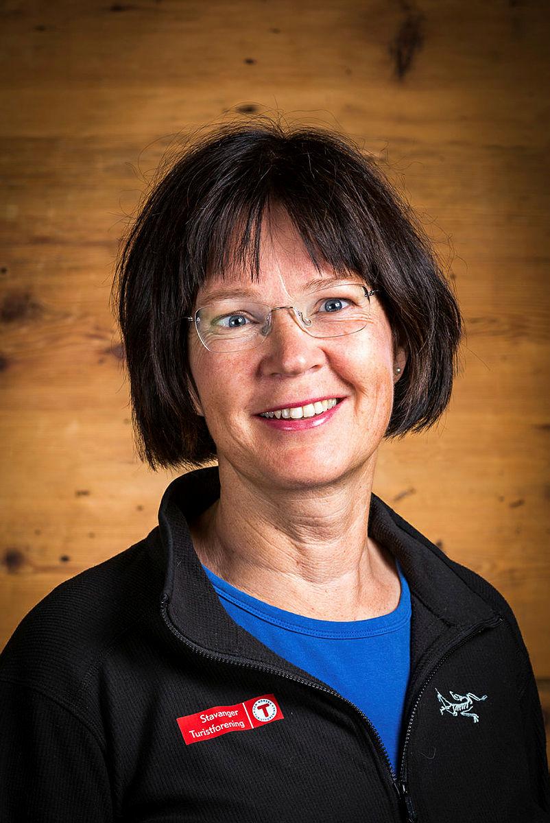 Anne Katrine Lycke, fagsjef naturforvaltning i Stavanger Turistforening.