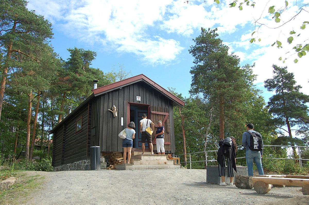 Hyggelig oppdrag til våre frivillige i sommer på Bygdøy.