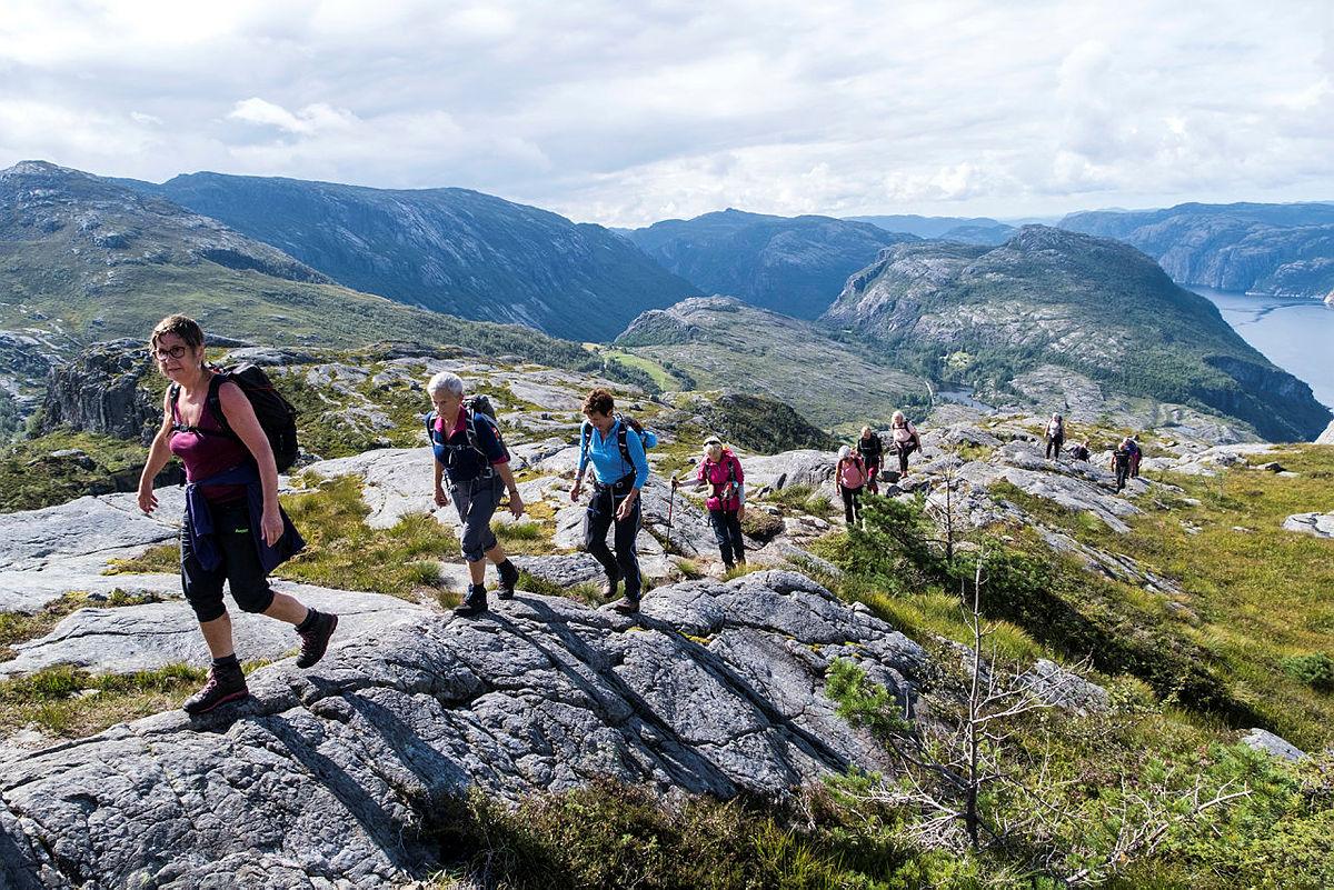 Tur til Sollifjellet med 60+
