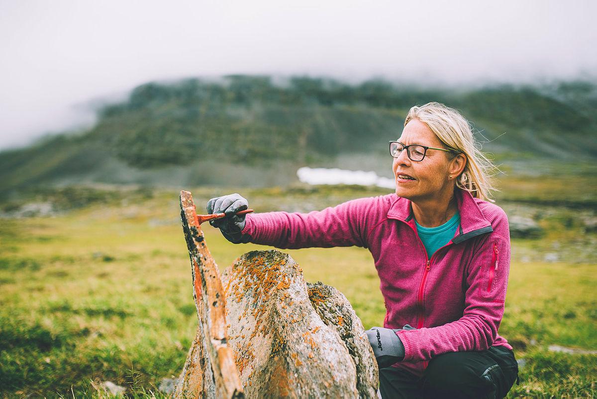 Siste uken av NRKs sommersending i 2018 gikk gjennom Indre Troms via både Sverige og Finland. Her på vei mot Gappohytta.