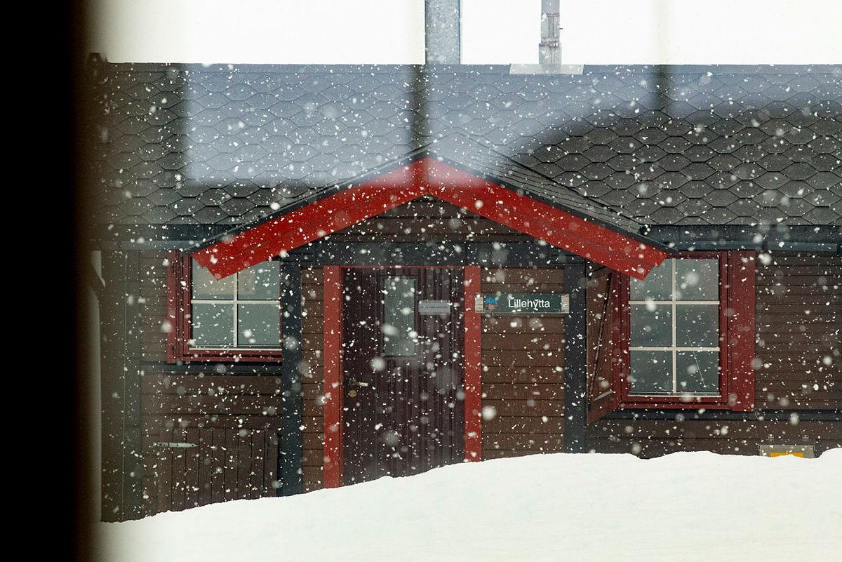 Mye snøvær for tiden.