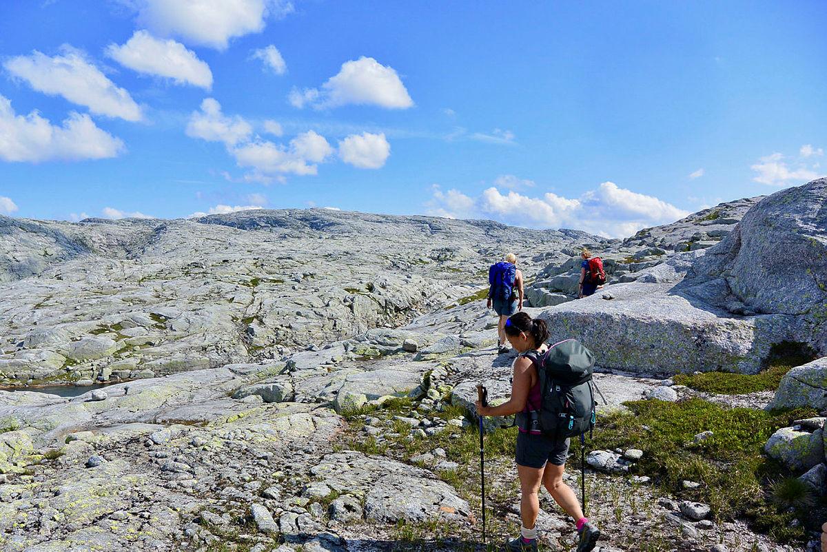 LYSEKAMMEN: For de som søker en ordentlig utfordring er toppturen til Sandnes' høyeste fjell en real utfordring.