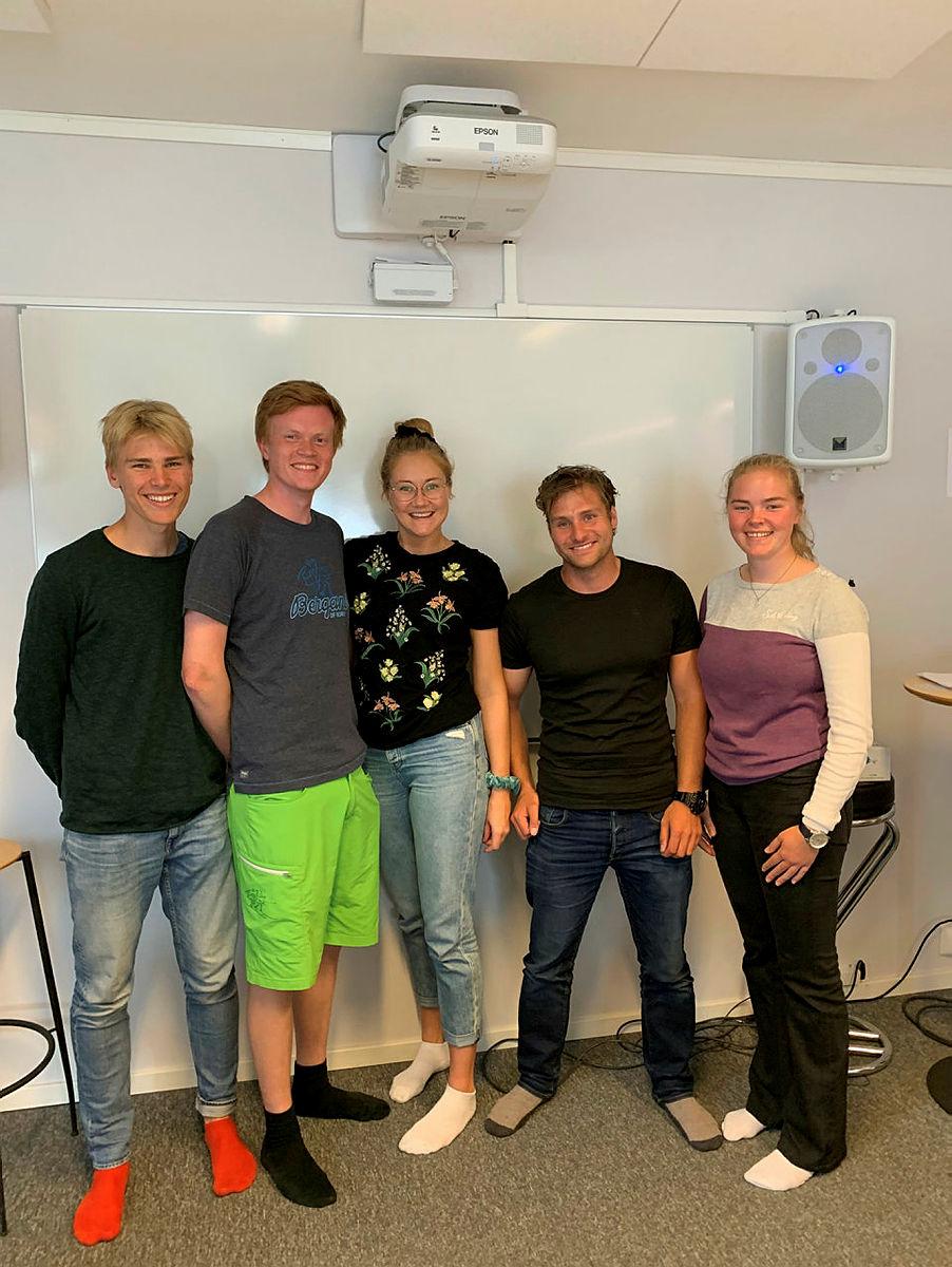 DNT Ung Drammen styre 2019-2020