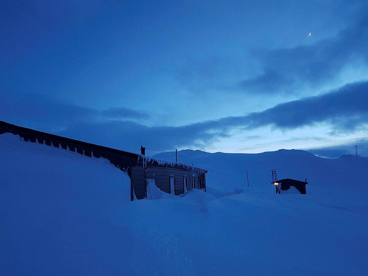Mykje snø ved Torfinnsheim, 27. februar 2020.
