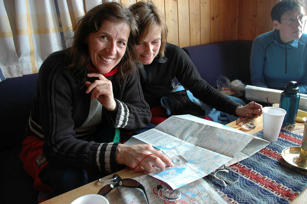 Ferksingtur til Krækkja, Hardangervidda, vinter. Røffe forhold.