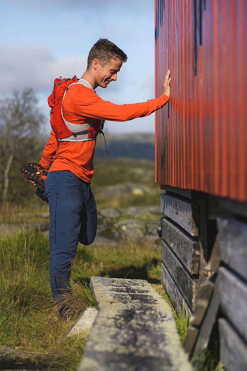 UTETRENING: Stiløping er populært i vårt distrikt. Det er det gode grunner til. Området vårt egner seg utmerket til lange løpeturer på fine stier.