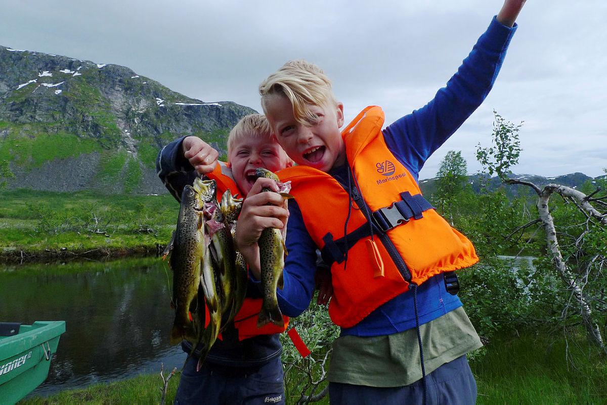 Fisking ved Solrenningen