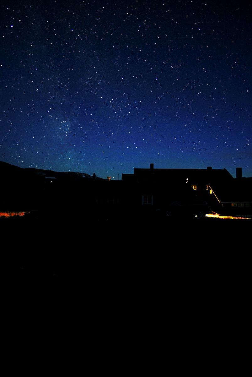 Natt på Geiterygghytta