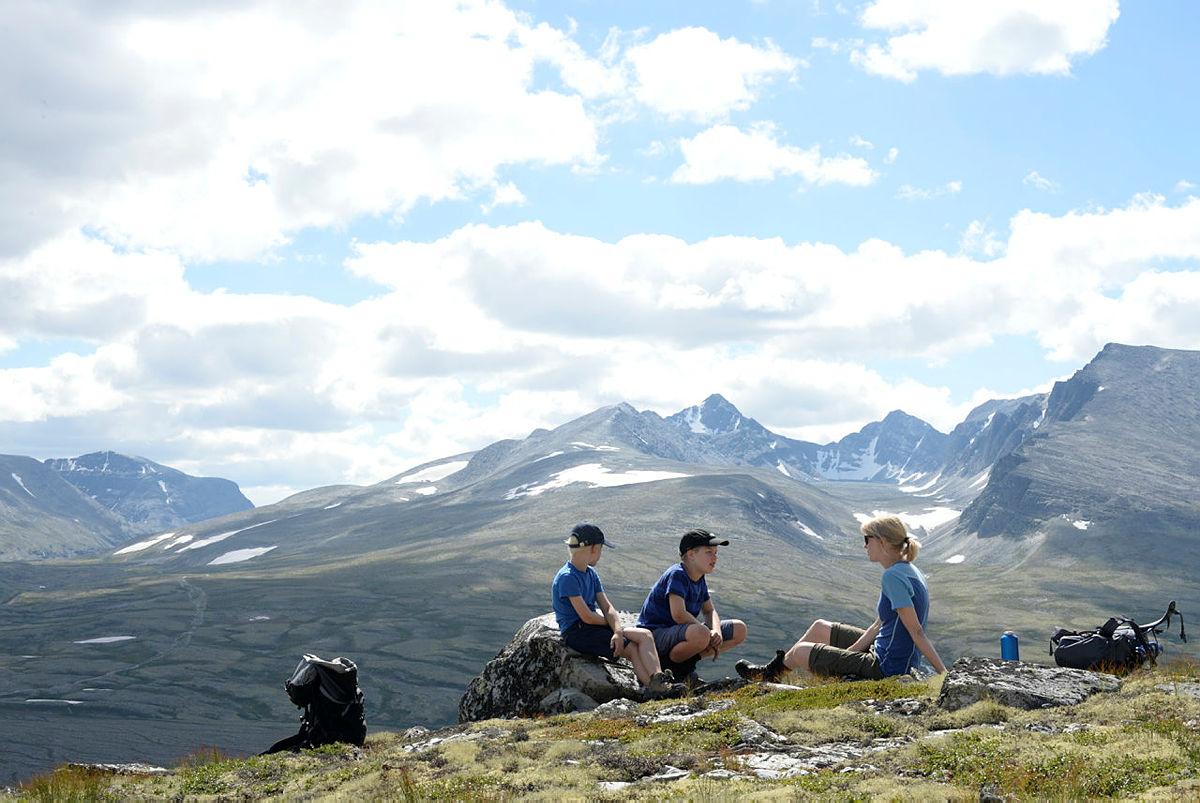 ....på fjelltur? Uansett - friluftsliv gir mye glede!
