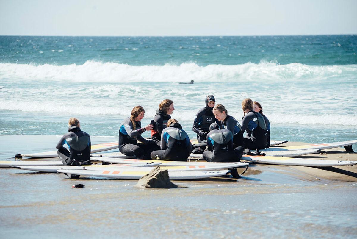 Surfecamp med DNT ung